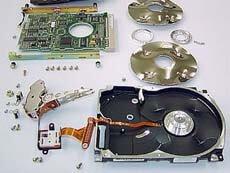 ハードディスク 破壊